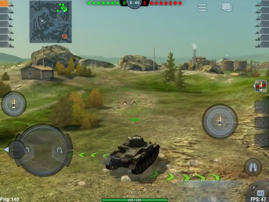 world of tanks blitz на андроид mod